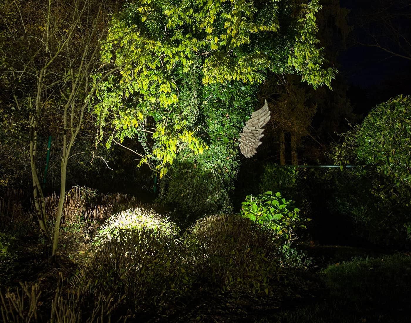 gartenbeleuchtung und außenbeleuchtung · licht von klein